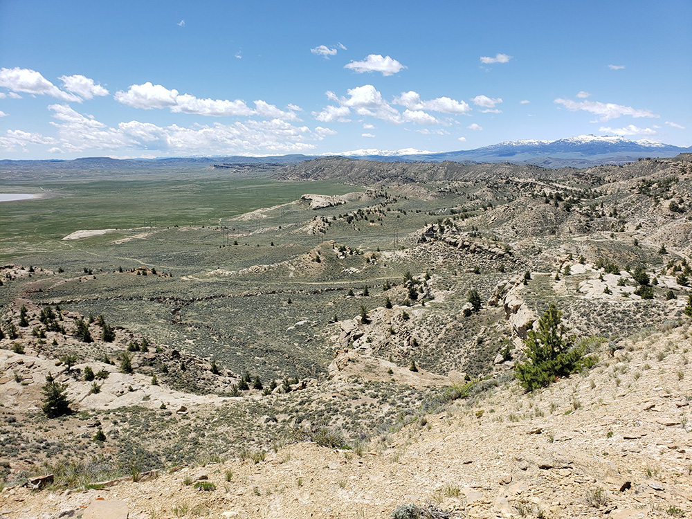 Oregon Basin Near Cody Wyoming