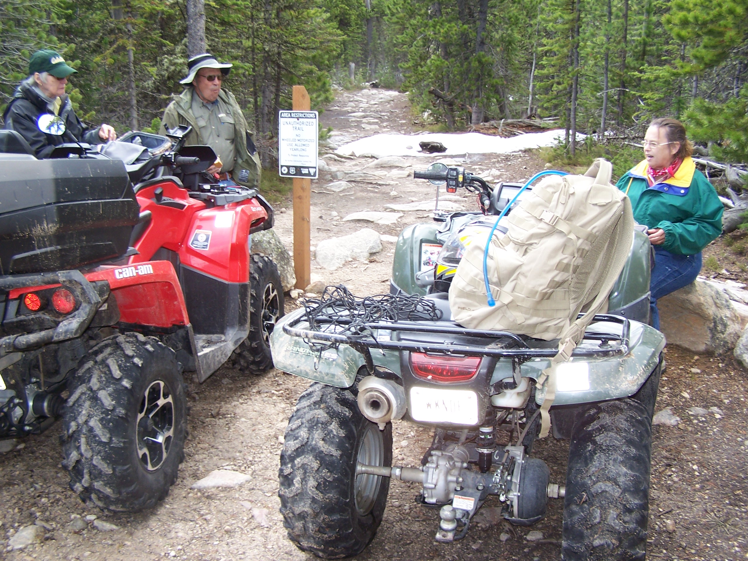 Benbow Road ATV Ride