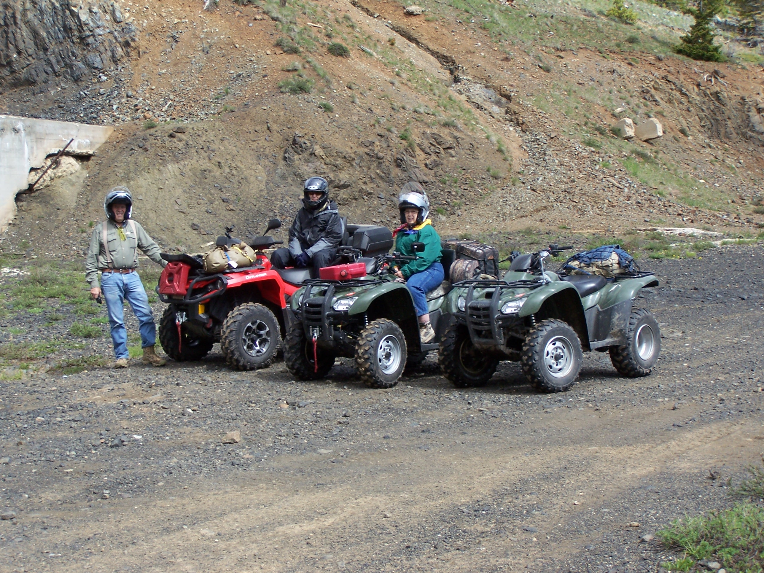Benbow Road ATV Ride Near the Mine