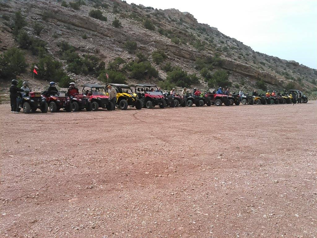 Group Rides can include a Large Number of Vehicles