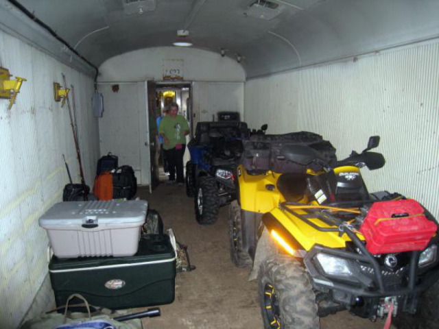 Canada Trip: Railway Box Car ATV Transport