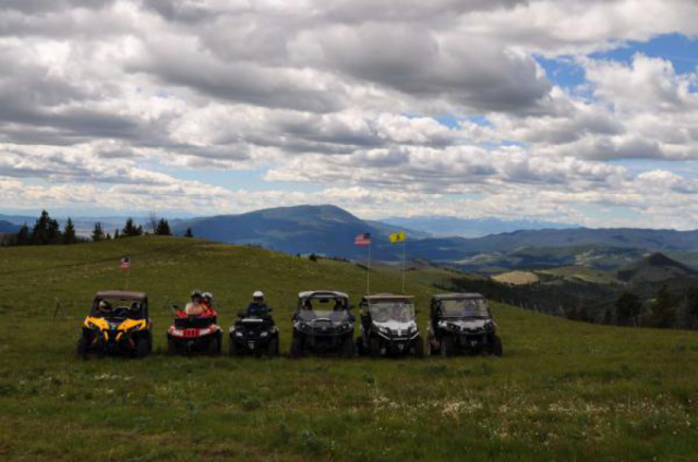 TSATV Group Rides are all over the State of Montana