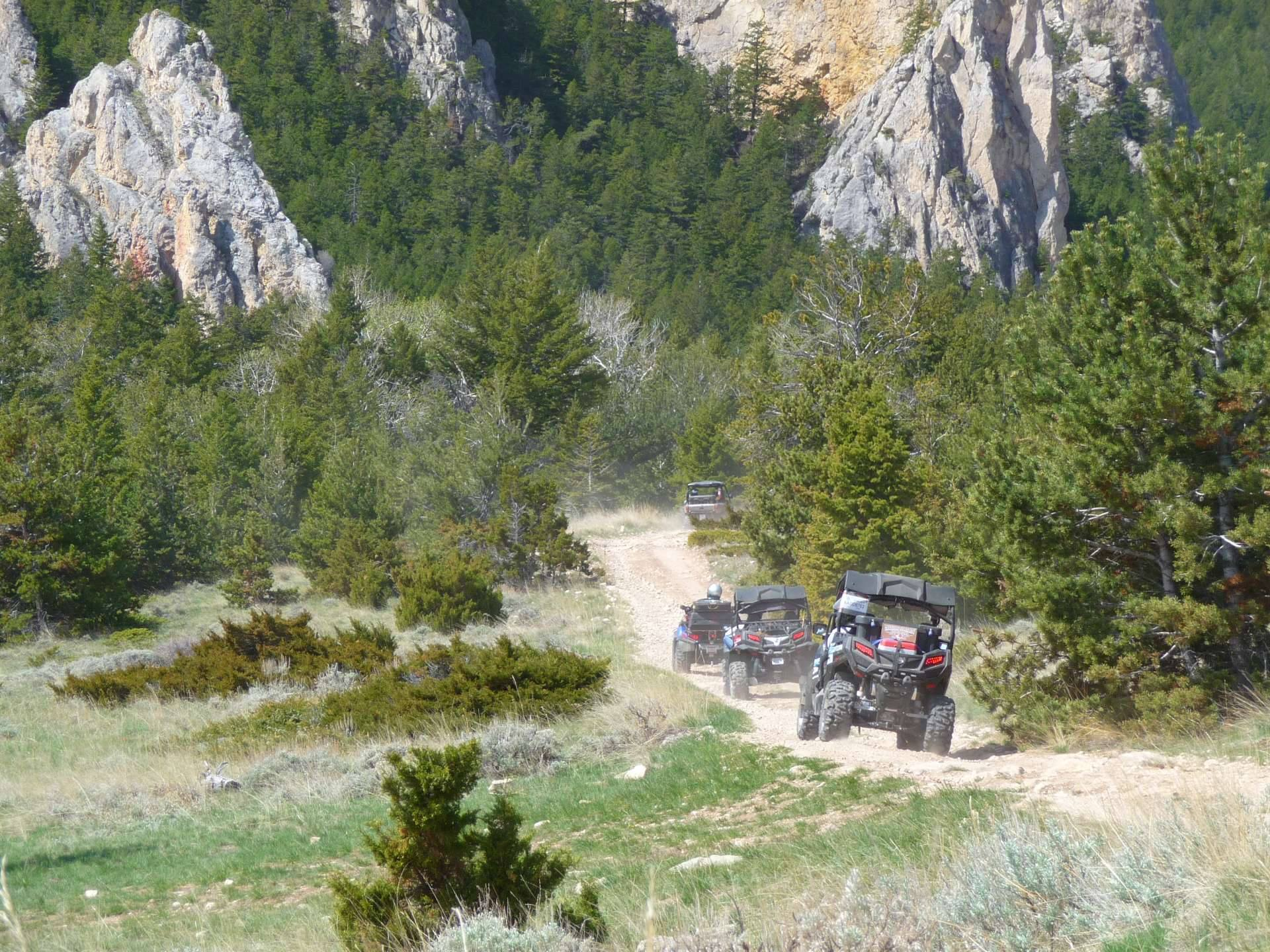 Rack Faces on OHV Trails