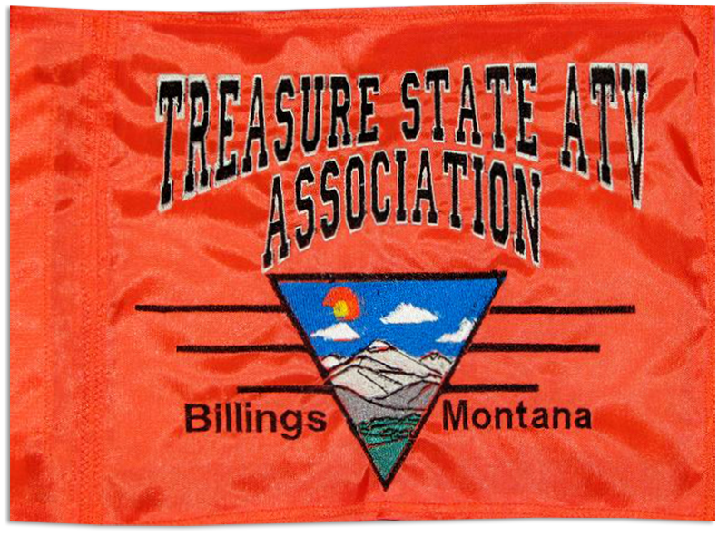 Treasure State ATV Association Flag